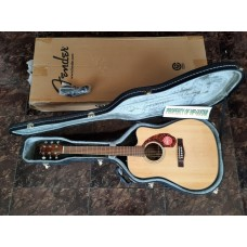 FENDER CD 140 SCE NATURAL WITH HARDCASE