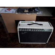 FENDER USA LIMITED DELUXE REVERB 65 BAMBOO CHALK