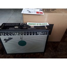 FENDER DELUXE REVERB 65 BLACK FULL TUBE MADE IN USA