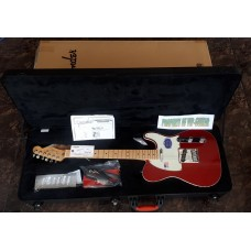 FENDER USA AMERICAN DELUXE TELECASTER CANDY RED