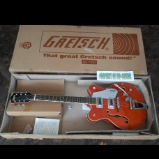GRETSCH G 5422 T ORANGE STAIN WITH BIGSBY
