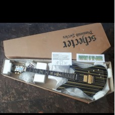 SCHECTER SYNYSTER GATES SUSTAINIAC GOLD BLACK NEW VERSION