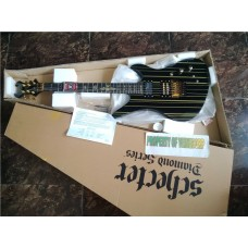 SCHECTER SYNYSTER GATES SUSTAINIAC GOLD BLACK MADE IN KOREA